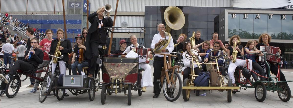Orchestre bicyclette